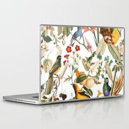 Floral and Birds XXXII Laptop & iPad Skin