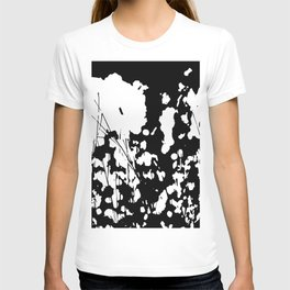 Abstract Black and White Rorschach T-shirt