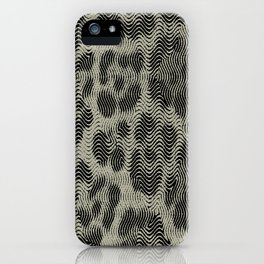 Leopard OP Illusion iPhone Case