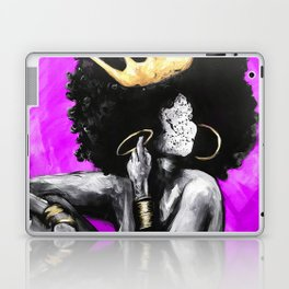 Naturally Queen VI PINK Laptop & iPad Skin