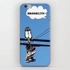 Brooklyn! Penguins taking over? iPhone & iPod Skin