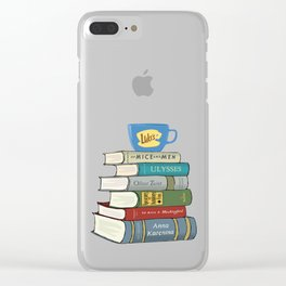 Rory's Books Clear iPhone Case
