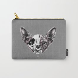 Shynx Half Skull Carry-All Pouch
