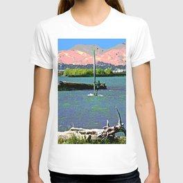 Sherman Island Wind Surfing T-shirt
