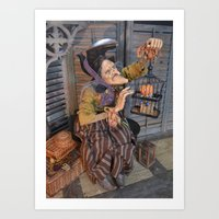 Rucus Studio Maddie the Eccentric Witch Art Print