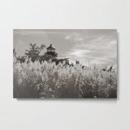 East Point Lamp Metal Print