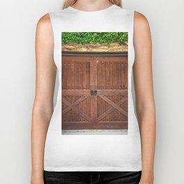 Door and Ivy Backdrop Biker Tank