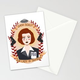 Dana Scully Stationery Cards