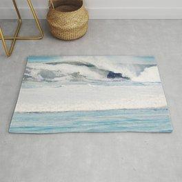 Falling Ocean Waves Rug