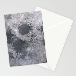 Moon Grey scale Stationery Cards