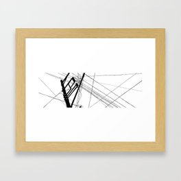 Wires #1 Framed Art Print