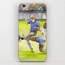 Ledley King tackles Robben iPhone Skin
