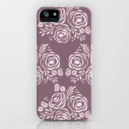 Seal of Roses iPhone Case
