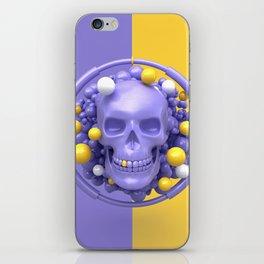 Skull V2 iPhone Skin