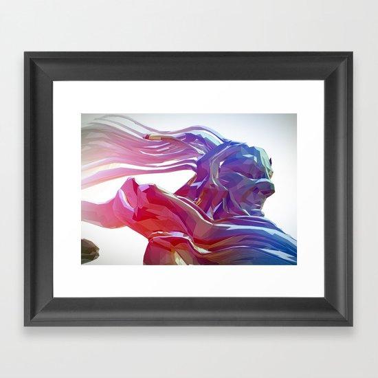 Hec Framed Art Print