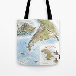 Cape Horn - Exploration AD 1616 Tote Bag