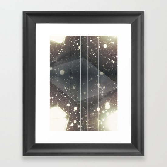 Light Space Framed Art Print