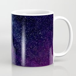 The Milky Way Midnight Blue & Purple Coffee Mug
