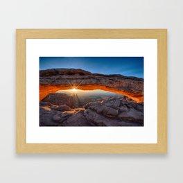 Mesa Arch  Framed Art Print