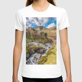 Snowdonia Landscape Winter T-shirt