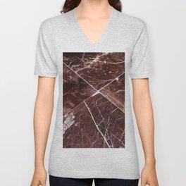 Brown Granite Tiles Unisex V-Neck