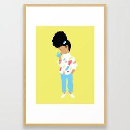 Make Time For Cocoa Framed Art Print