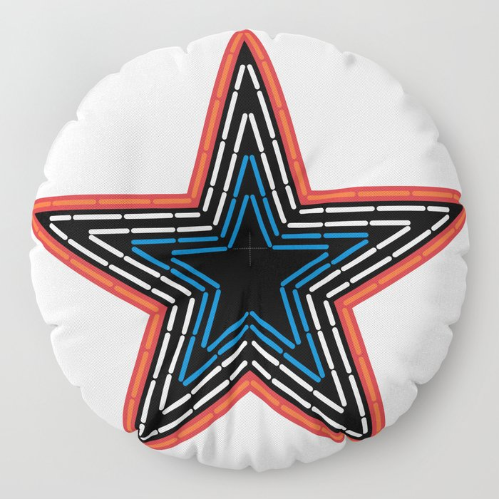 Roanoke Pride Mill Mountain Star Floor Pillow