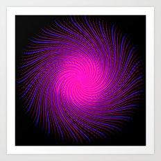 Pink Spirit Circle 2 Art Print