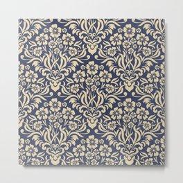 Damask Pattern 4 Metal Print