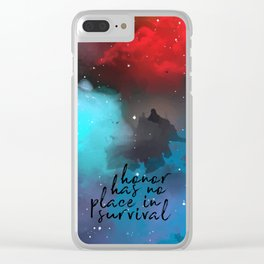 No Place in Survival Clear iPhone Case