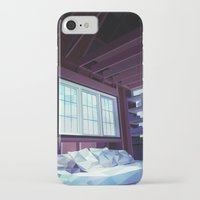 cabin pressure iPhone & iPod Cases featuring Cabin by Kiana