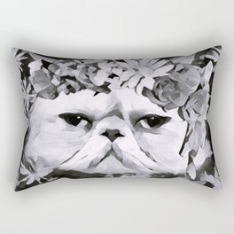 Lord Aries Cat - Art 003B Rectangular Pillow