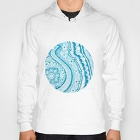 paisley Hoodies featuring Paisley  by siobhaniaa