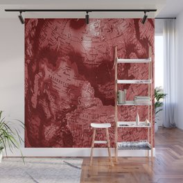 Russia in Red Wall Mural