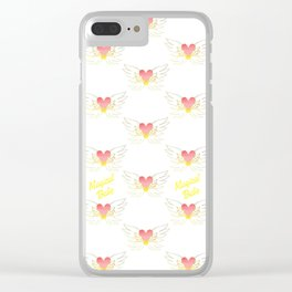 Magical Babe - Sublimation Clear iPhone Case