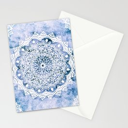 BLUE SKY MANDALA Stationery Cards