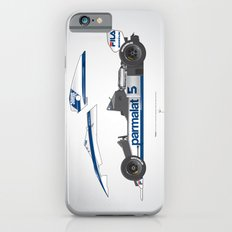 Outline Series N.º6, Nelson Piquet, Brabham BT-52 BMW, 1983 iPhone 6s Slim Case
