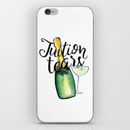 Tuition Tears iPhone Skin