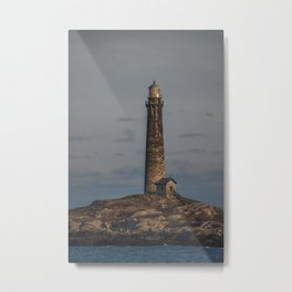Thatchers north lighthouse tower Metal Print