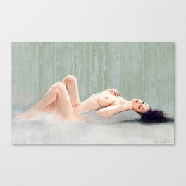 The Daydream Fantasy - Reclining Nude Canvas Print