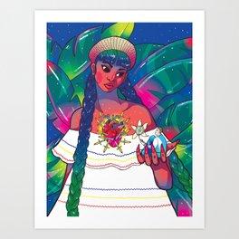 My Gringo Novio Kunstdrucke