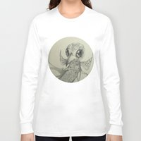 flight Long Sleeve T-shirts featuring Flight by Ma. Luisa Gonzaga