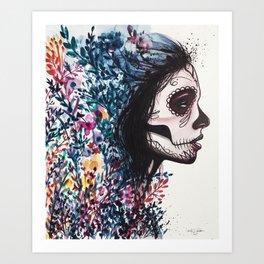 Twisted Up Art Print