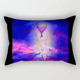 Heavenly apparition Rectangular Pillow