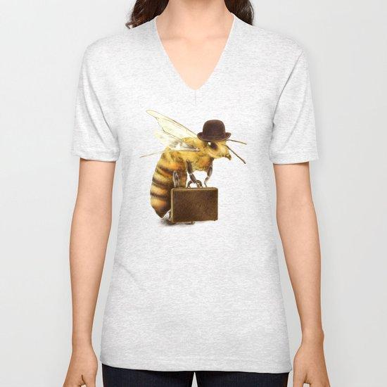 Worker Bee Unisex V-Neck