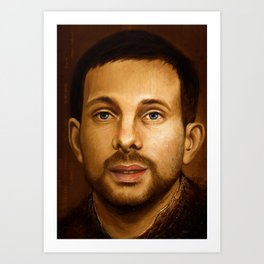 Dynamo portrait Art Print