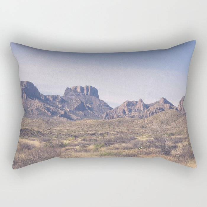 Westward III Rectangular Pillow