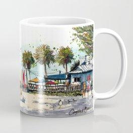 Coquina Beach on Anna Maria Island Coffee Mug