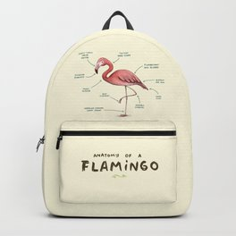 Anatomy of a Flamingo Backpack