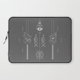 Mystical signs  Laptop Sleeve